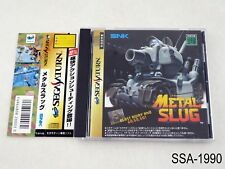 Metal Slug Sega Saturn Japanese Import SS Japan JP SNK US Seller A