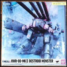 HI-METAL R Macross RoboTech HWR-00-MKII DESTROID MONSTER Figure BANDAI
