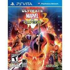 Ultimate Marvel vs Capcom (12) jeu pour le Sony Playstation PS Vita.