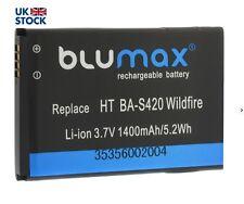 Blumax Li-ion Battery 3.7V 1400mAh for HTC Wildfire Legend Evo BA-S420