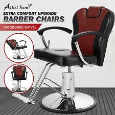 Two Tone Reclining Hydraulic Barber Chair Salon Spa Heavy Duty Shampoo Equipment