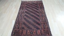 """Afghan CARPET RUG HAND MADE Antique WOOL traditional Belouchi 5ft 8"""" x 3ft 2"""""""