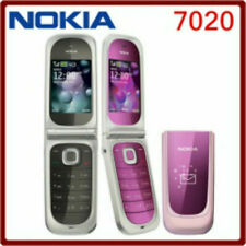 Original Nokia Fold 7020 Flip Big Bottom Cell Phone 2G GSM 850 900 1800 1900
