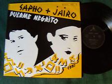 "SAPHO + JAIRO: Duerme negrito (ATAHUALPA YUPANQUI) 12"" MAXI 1987 MALAMBO 11972"