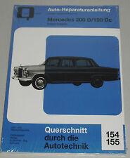 Reparaturanleitung Mercedes W110 Heckflosse 200 D / 190 Dc Diesel, Bj. 1961-1968