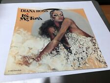 """Diana Ross - It's My Turn 7"""" 45 RPM Motown M 1496F USA 1980 W/Picture Sleeve NM"""