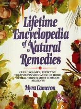 Lifetime Encyclopedia of Natural Remedies, Cameron, Myra, 0135352207, Book, Good