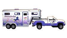 Truck Horse Trailer Gooseneck Play Set Kids Toddler Toys Vehicle Pretend New