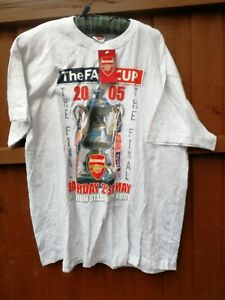 Arsenal Football Shirt 2005 The FA Cup final New with tags