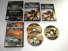 BLITZKRIEG 1 - Strategy Collection inc. Burning Horizon Add-On Pc Boxed Original