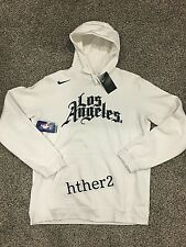 Los Angeles Clippers Authentic Nike City Edition 2020 Hoodie Kawhi NWT LA