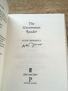 The Uncommon Reader, Signed By Alan Bennett.1st/1st