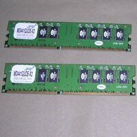 PQI (PQ1 TMTc) MD441GUOE-X2 1024MB (1GB) RAM (512 x 2) DDR400 Dual Channel CL2.5