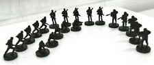 Risk Battlefield Rogue edition board game replacement pieces - Units Black Troop