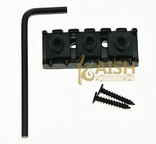 R3 Guitar Locking Nut 43mm String Lock Fits Floyd Rose Tremolo Bridge Black