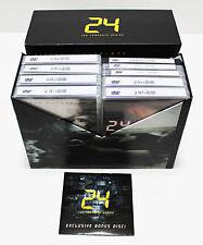 24 Complete Series Season 1-8 DVD SET Collection TV Show Episodes Lot Box Kiefe