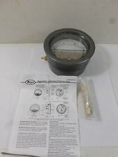 Used DWYER Instruments Magnehelic Pressure Gauge W33V CB  0-15 LBS per SQ IN