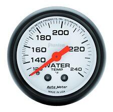 "AutoMeter 5732 Phantom Mechanical Water Temp. 120-240 Degree Gauge 2-1/16"""