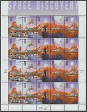 Scott # 3238-3242 - US  Souvenir Sheet Of 20 - Space Discovery - MNH - 1998