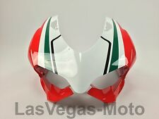 Ducati 1199 Panigale R S Upper Front Nose Headlight Cowling Fairing Tricolor