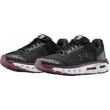 Under Armour HOVR Infinite Womens Running Shoes - Black Violet And Grey UK 6