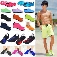 Mens Womens Barefoot Aqua Socks Water Skin Shoes Beach Swim Surf Sea Diving Pool