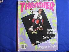 THRASHER MAGAZINE-JUNE 1988-SKATETOWN CHRONICLES-RAMP CHALLENGE-MOTORHEAD