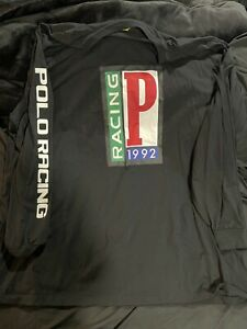 Polo Ralph Lauren Racing Long Sleeve T Shirt. 4xl Very Lightly Wore