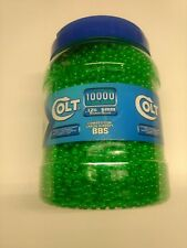 New listing 10,000 Colt Clear Green .12 G 6 Mm Competition Grade Airsoft BBs