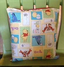 Winnie The Pooh Pillow New HANDMADE Pillow Made in USA Tigger, Eeyore, Piglet