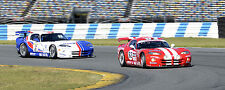 Dodge GTS-R Viper  and Chrysler GTS-R Vintage Classic Race Car Photo (CA-0716)