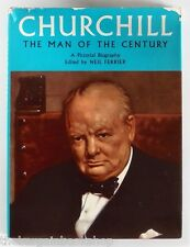 CHURCHILL MAN OF THE CENTURY Pictorial Biography (1965) - HARDBACK - 1st Edition