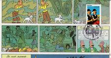 DUP07-4 Pli 100 ans Hergé Tintin - Dupondt, Guebwiller