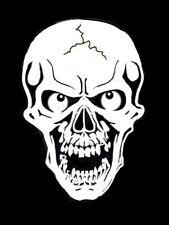 high detail airbrush stencil   skull 34  FREE UK POSTAGE