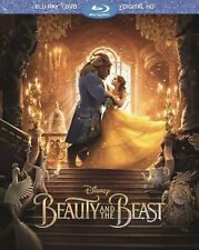 DISNEY BEAUTY AND THE BEAST(BLU-RAY+DVD+DIGITAL HD)W/SLEEVE BRAND NEW