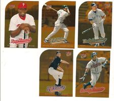 2005 Fleer Ultra All-Rookie Gold Medallion Baseball Card Lot (5 Different)
