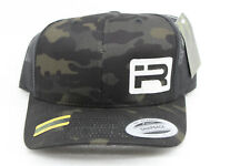 Yupoong Snapback Cap Multicam Black Camouflage New