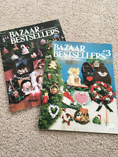 Lot of 2 BAZAAR BESTSELLERS Craft Booklets, Hot off the Press #116 #130