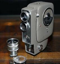 Agfa Normal 8mm Filmkamera mit Tasche und Schneider Kreuznach Objektiv