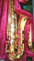 YAMAHA ALTO SAXOPHONE YAS 34II USED INCLUDE ACCESSORIES HARD CASE F/S FROM JAPAN