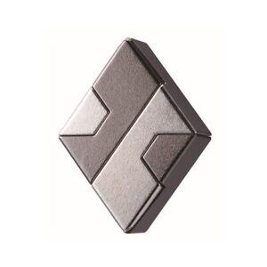 Hanayama Cast Diamond Puzzle - Level 1 of 6 Difficulty - Hanayama Metal Puzzle