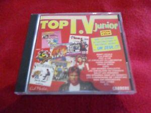 "RARE! CD ""TOP TV JUNIOR, VOLUME 2"" V'la Cubitus, Avant l'ecole, Eric et compagni"