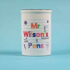 Teacher Pen Pot ~ Personalised Pencil Pot ~ Thank you gift End of Term Desk Tidy