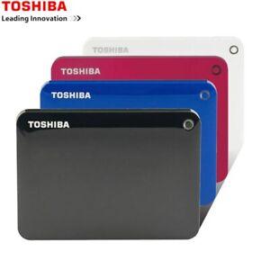"Toshiba 1TB 2TB 3TB 4TB USB 3.0 Hard Drive Disk 2.5"" External HDD Portable V9"