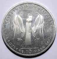 1990 Germany Ten 10 Deutsche Mark 800 Years Teutonic Order - Lot 62