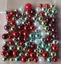 """DOLLS HOUSE """"** 100** ASSORTED CHRISTMAS TREE BAUBLES"""" AND TREE TOPPER."""
