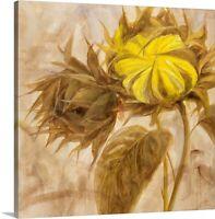 Sunflower II Canvas Wall Art Print, Sunflower Home Decor
