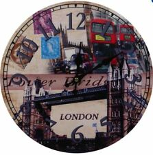 Decorative Fine Wooden Wall Clock (London Bridge)