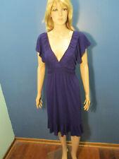 plus size 1X purple empire waist dress by SO SIK / SOSIK - stretchy