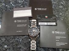 TAG HEUER CARRERA Caliber 8 GMT Grand Date Chronometer 41mm WAR5010